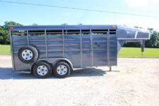 #00277 - Used 2011 Calico 16' Stock Trailer