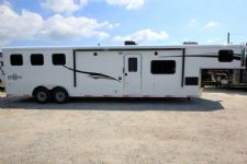 #06746 - New 2017 Bison Ranger 8314L 3 Horse Trailer  with 14' Short Wall