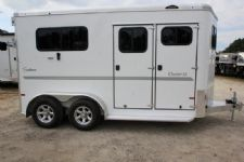 #B3821 - New 2017 Sundowner CHARTER2NBPTRSE 2 Horse Trailer  with 4' Short Wall