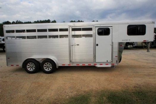 #B4675 - New 2017 Sundowner RANCHER20GNTR Stock Trailer  with 4' Short Wall
