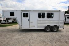 #06289 - Used 2008 Featherlite 7206LQ 2 Horse Trailer  with 6' Short Wall