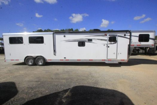 #00908 - New 2017 Lakota Charger 8415GLQ 4 Horse Trailer  with 15' Short Wall