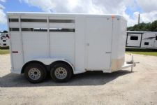 #63816 - Used 2013 Titan 2HSLBP 2 Horse Trailer  with 2' Short Wall