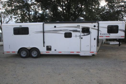 #00987 - New 2017 Lakota 8309LQ 3 Horse Trailer  with 9' Short Wall