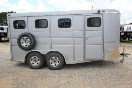 #00717 - Used 2010 Calico 3HSLBP 3 Horse Trailer  with 2' Short Wall