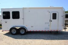 #00359 - New 2017 Harmar Dixie Star 902BPLQ 2 Horse Trailer  with 9' Short Wall
