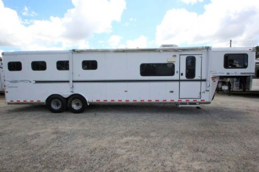 #A0317 - Used 2006 Sundowner 8410LQ 4 Horse Trailer  with 10' Short Wall