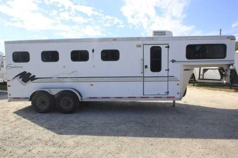 Used 4 Horse Sundowner Horse Trailer With Living Quarters Dixie