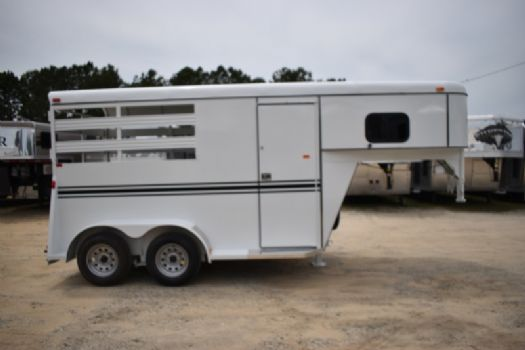 #77551 - New 2017 Bee 2HSLGN 2 Horse Trailer  with 2' Short Wall
