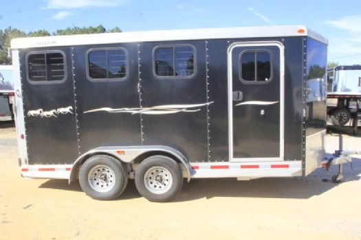#04674 - Used 2013 Adam 3HSLBP 3 Horse Trailer  with 2' Short Wall