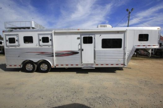 #97201 - Used 2004 Dreamcoach  3 Horse Trailer  with 10' Short Wall
