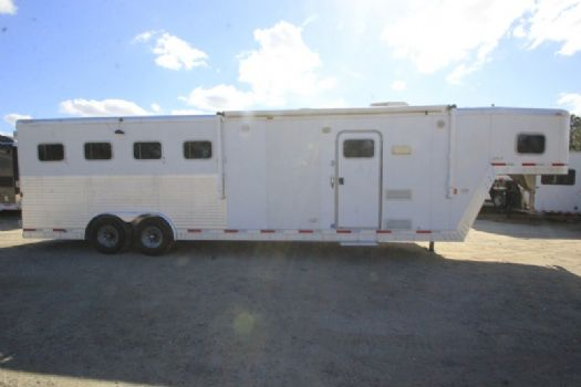 #36572 - Used 2006 Exiss XT410 4 Horse Trailer  with 10' Short Wall