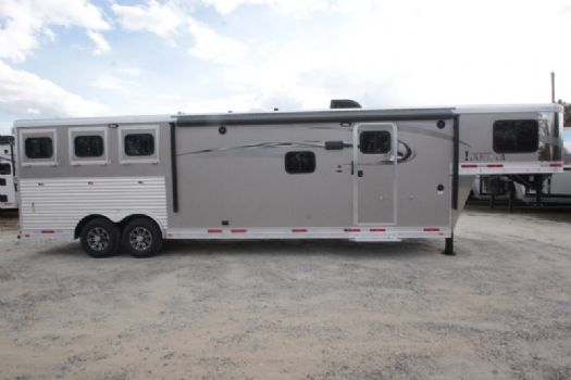 #01315 - New 2017 Lakota Charger 8313RKGLQ 3 Horse Trailer  with 13' Short Wall