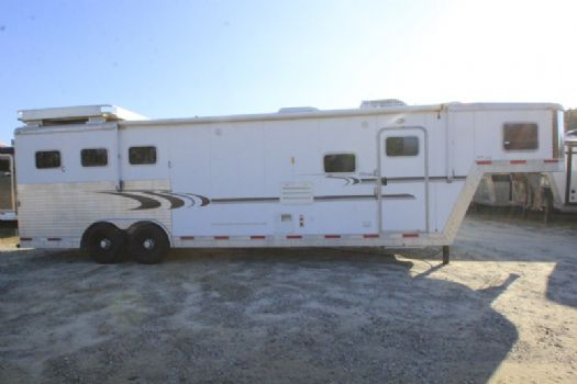 #31742 - Used 2005 Exiss XT312GLQ 3 Horse Trailer  with 12' Short Wall