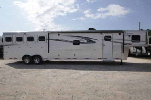 #01490 - New 2017 Lakota 8416SRGLQ Big Horn 4 Horse Trailer  with 16' Short Wall