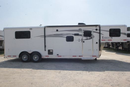 #00355 - New 2018 Lakota 8309LQ 3 Horse Trailer  with 9' Short Wall