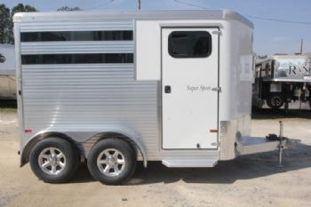 #B5246 - New 2017 Sundowner SS2HBP 2 Horse Trailer  with 2' Short Wall