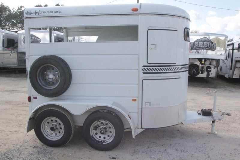 Used 2 Horse SH Trailer Bumper Pull Dixie