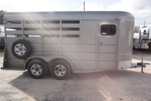 #37532 - Used 2011 Triple B 3HSLBP 3 Horse Trailer  with 2' Short Wall