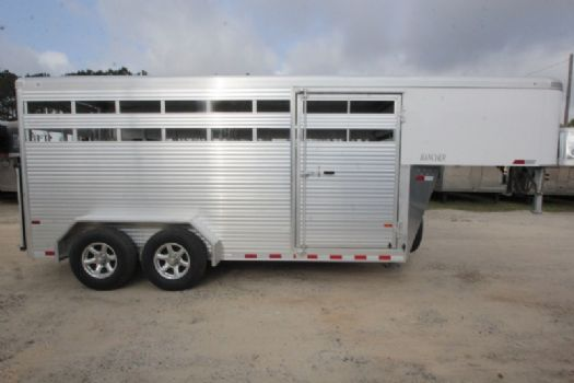#B5325 - New 2018 Sundowner RANCHER16GN Stock Trailer