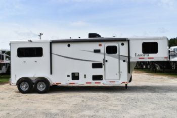 #00027 - New 2018 Lakota Colt 7209 2 Horse Trailer  with 9' Short Wall