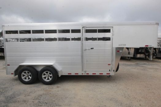 #B5417 - New 2018 Sundowner RANCHER16GN Stock Trailer