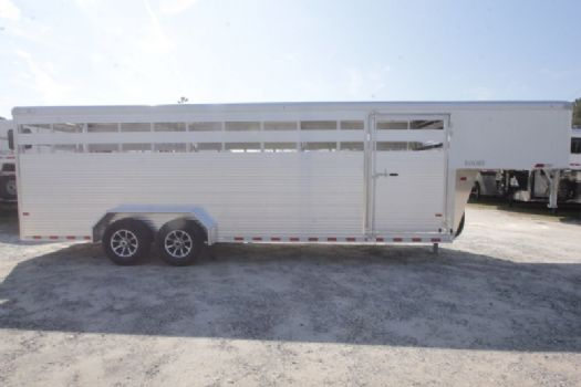 #B5198 - New 2017 Sundowner RANCHER24GN Stock Trailer