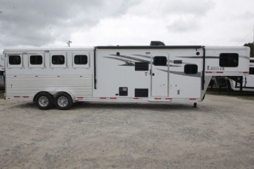 #00331 - New 2018 Lakota 7411GLQ Charger 4 Horse Trailer  with 11' Short Wall