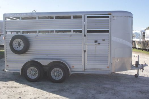 #82968 - Used 2005 Featherlite 2HBP 2 Horse Trailer