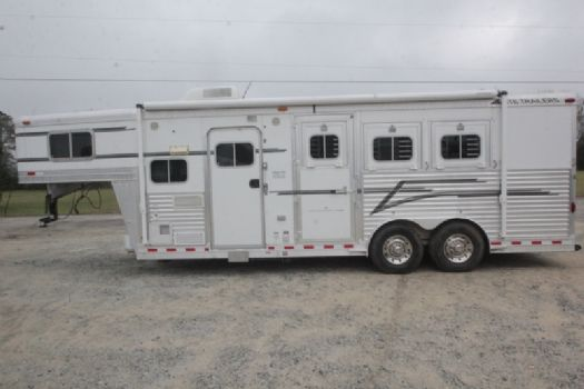 #05362 - Used 2004 Elite 8308LQ 3 Horse Trailer  with 8' Short Wall
