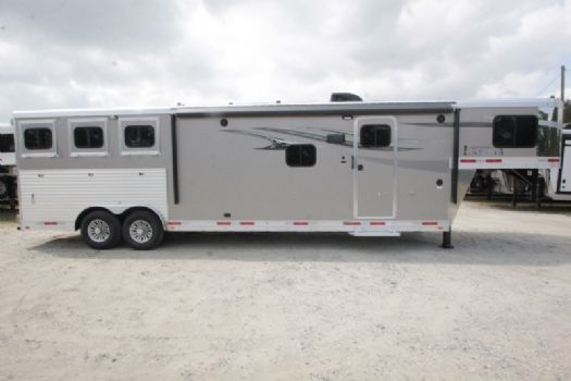 #00399 - New 2018 Lakota Charger 8313RKGLQ 3 Horse Trailer  with 13' Short Wall