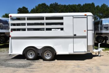 #77555 - New 2017 Bee 3HBPSL 3 Horse Trailer  with 2' Short Wall