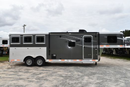 #00521 - New 2018 Lakota 8309LQ 3 Horse Trailer  with 9' Short Wall