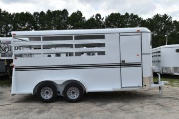 #77565 - New 2018 Bee 3HBPSL 3 Horse Trailer  with 2' Short Wall