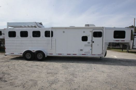#06471 - Used 2012 CM 7408LQ 4 Horse Trailer  with 8' Short Wall