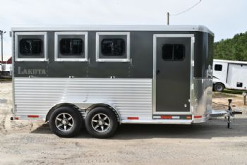 #00738 - New 2018  Lakota 3HBPSL 3 Horse Trailer  with 2' Short Wall