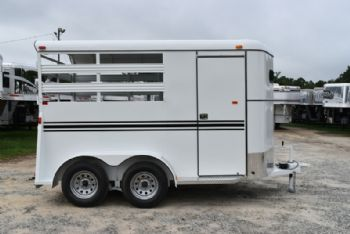 #77577 - New 2018 Bee 2HBPSL 2 Horse Trailer  with 2' Short Wall
