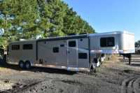 #00945 - New 2018 Lakota Colt 8411SO 4 Horse Trailer  with 11' Short Wall