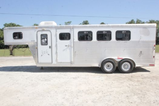 #35296 - Used 2006 Exiss ES400 4 Horse Trailer  with 4' Short Wall