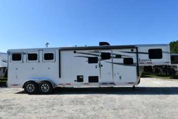 #00994 - New 2018 Lakota 7311LQ Charger 3 Horse Trailer  with 11' Short Wall