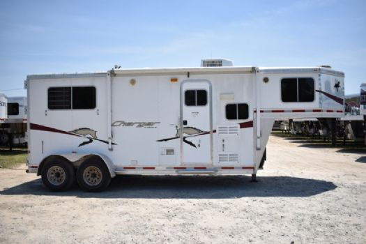 #87025 - Used 2009 Lakota 207LQ 2 Horse Trailer  with 7' Short Wall