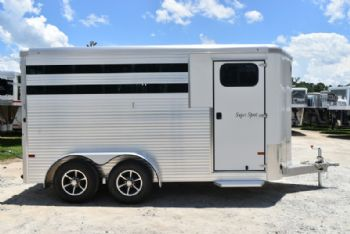 #B5860 - New 2018 Sundowner SS3HBP 3 Horse Trailer  with 2' Short Wall