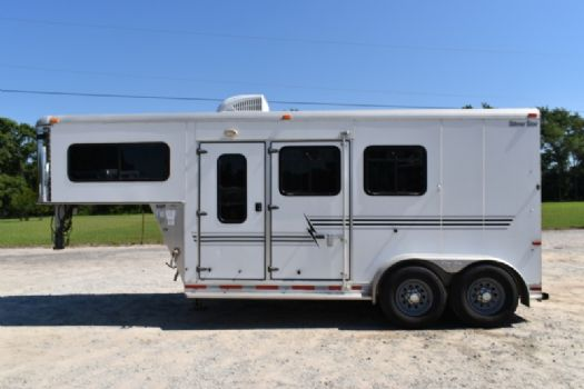 #03120 - Used 2005 Silver Star 2HGNLQ 2 Horse Trailer  with 4' Short Wall