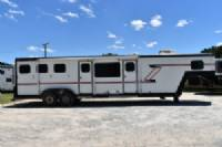 #R0452 - Used 1992 Prolite 310LQ 3 Horse Trailer  with 10' Short Wall