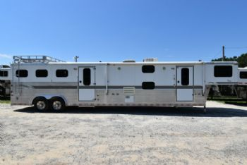 #A2368 - Used 2000 Sundowner 8314LQ 3 Horse Trailer  with 17' Short Wall