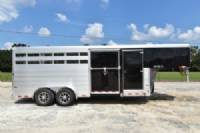#B6088 - New 2018 Sundowner RANCHER20GNTR Stock Trailer  with 4' Short Wall