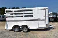 #77638 - New 2018 Bee 3HBPSL 3 Horse Trailer  with 2' Short Wall