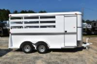 #77641 - New 2018 Bee 3HBPSL 3 Horse Trailer  with 2' Short Wall