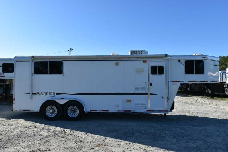 #87359 - Used 2011 Lakota 7307 3 Horse Trailer with 7' Short Wall