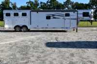 #00105 - New 2019 Lakota Charger 8315SRB9GLQ 3 Horse Trailer  with 15' Short Wall